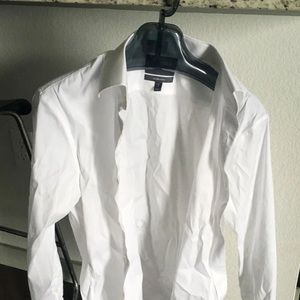 Bonobos Dress Shirt, Tailored Slim Fit, Size 15/32